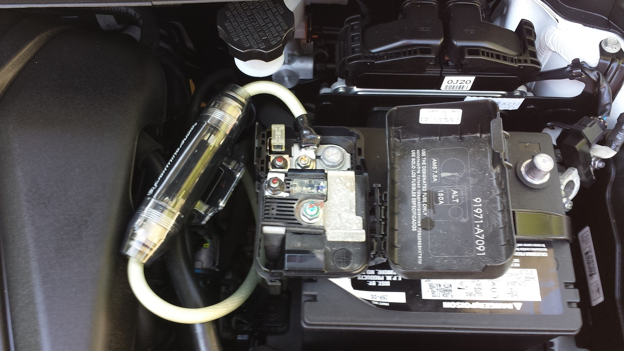 2014 kia optima battery